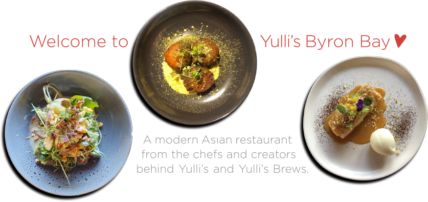 A modern Asian restaurant from the chefs and creators behind Yulli's and Yulli's Brews.